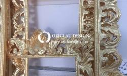 Ornamente polistiren oglinzi